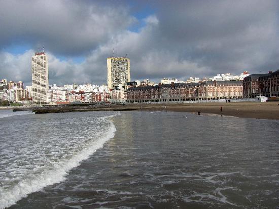 Mar del Plata, Argentinien: Desde el mar