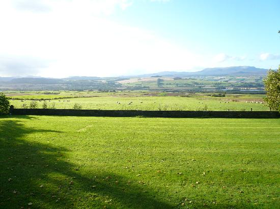Kinkell House Hotel : View from hotel overlooking Dingwall beyond