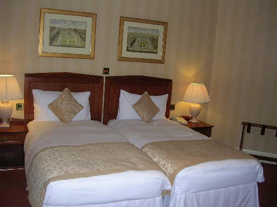 Chamberlain Hotel: quiet room