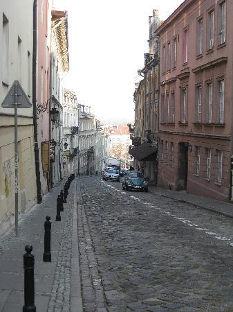 Pierogarnia: Street view- loved the vintage Volkswagon!
