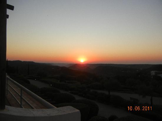 Hotel Rural Quinta do Marco: sunrise from balcony