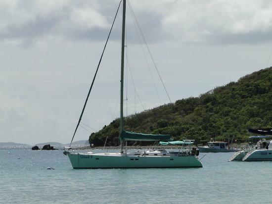 Cloud 9 Sailing Adventures: Cloud 9 from The Soggy Dollar