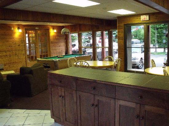 Powder Mountain Lodge: Common area