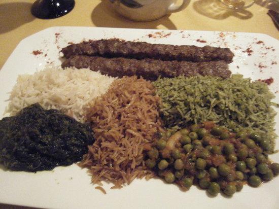 Khyber Pass Restaurant: Kabobs
