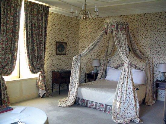 Chateau de la Bourdaisiere: Le Chambres du Gabrielle DÈstrees