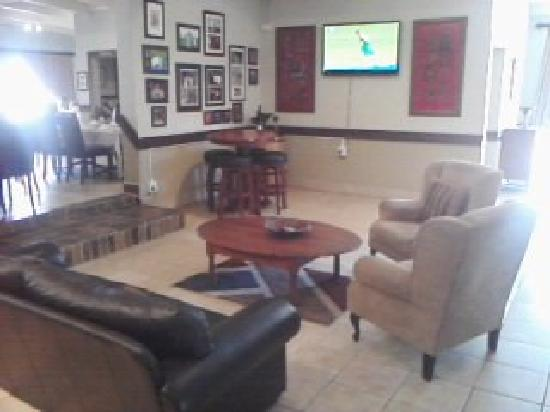 Ingwenyama Conference & Sport Resort : The Lounge at the Bar