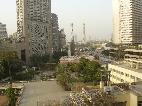 Pyramisa Suites Hotel Cairo: 4th floor better room -view