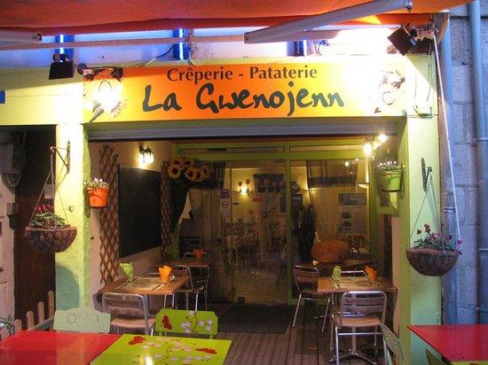 La Gwenojenn: La façade