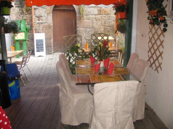La Gwenojenn: La terrasse couverte