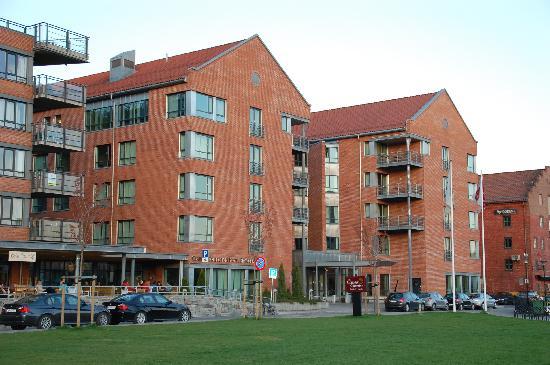 Clarion Collection Hotel Bryggeparken: Flott beliggenhet.