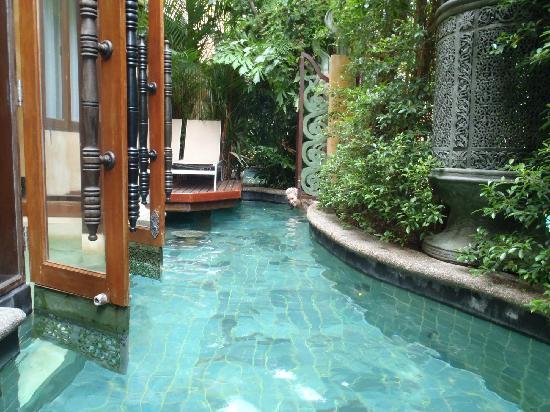The Baray Villa: private pool area