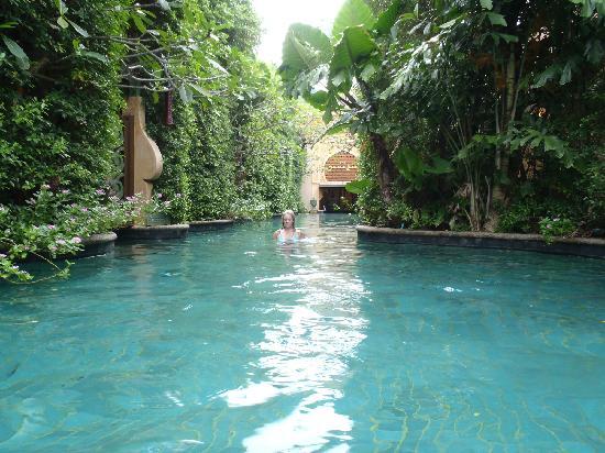 The Baray Villa: main villa pool