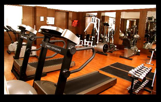 GreenPark Chennai: Fully equipped Gymnasium