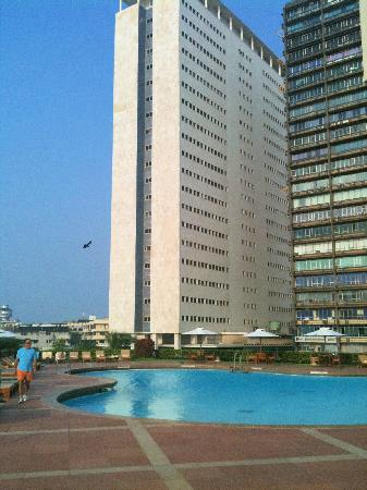 Trident Nariman Point Pool Hotel View