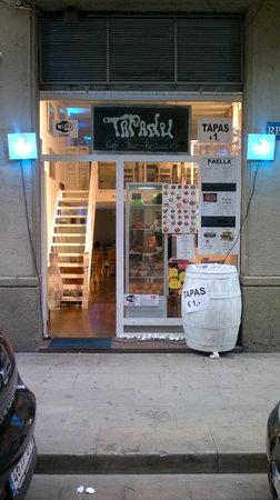 Tapadu Tapas bar restaurant barcelona