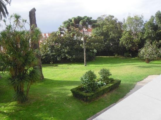 Hotel Escuela Las Carolinas: jardín