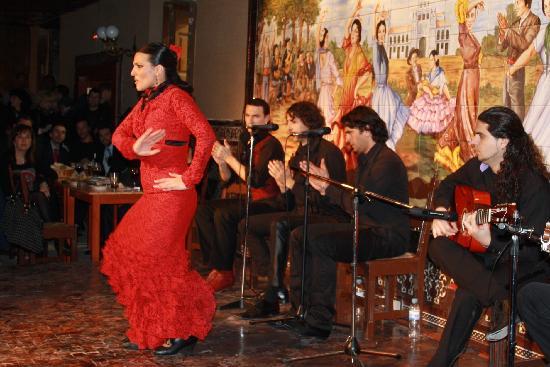 Tablao Flamenco Villa Rosa : flamenco dancer
