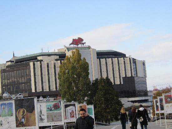 National Palace of Culture Congress Centre : Exterior