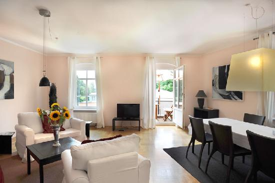 Feinwohnen: Apartment ROMA Wohnbereich