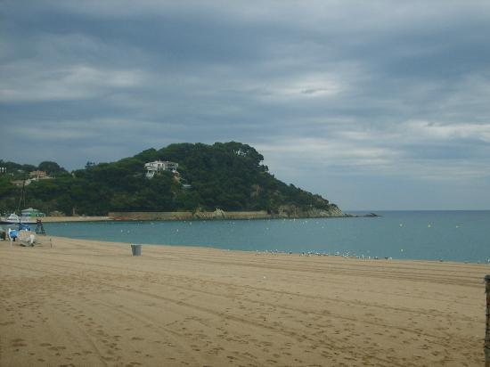 Fenals Beach : castle