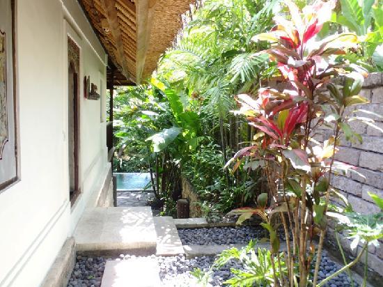 Plataran Canggu Resort & Spa : entrez de notre suite
