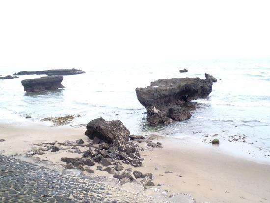 Plataran Canggu Resort & Spa : vue de la plage du Plataran