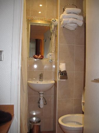 โฮเต็ล เมอริเดียนนัล: bagno e lavandino