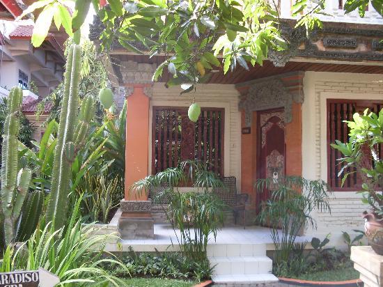 Seminyak Paradiso Hotel: Die Mangos wachsen einem in den Mund