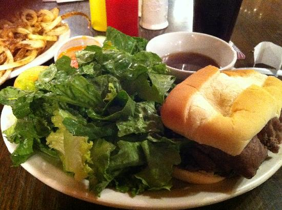 Big Bottom Bar & Grill: french dip
