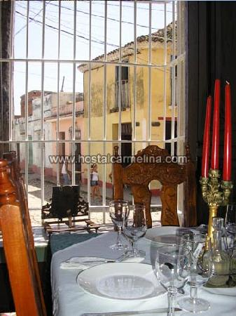 Hostal Carmelina de la Paz : Restaurant Barrie (this is the restaurant of the inn)