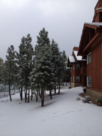 Worldmark at Big Bear: A Saturday morning after a snowfall