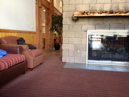Worldmark at Big Bear: a glimpse of the rec room