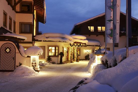 Wanderhotel Kirchner: Romantische Winterstimmung