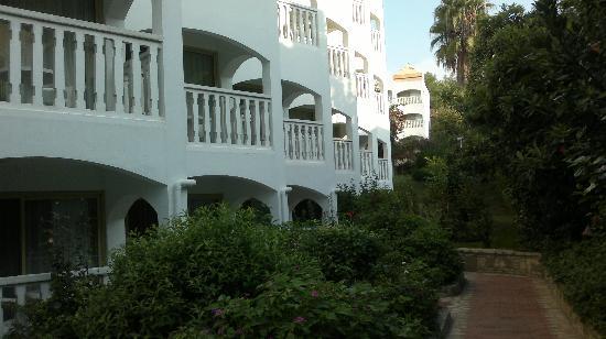Hotel Defne Ana: unsere Zimmerseite