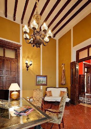Casa Lecanda Boutique Hotel: Reception
