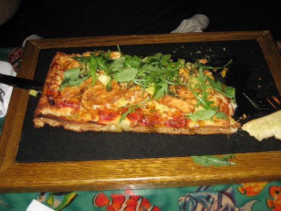 Rainforest Café: Margerita pizza.