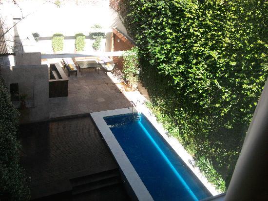 Ribera Sur Hotel: Room view.