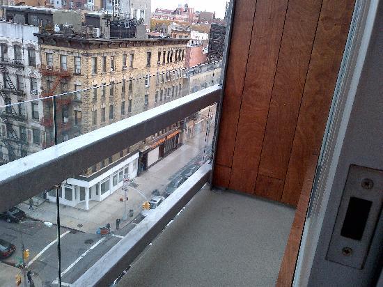 Balcony foto di the nolitan hotel new york city for Balcony new york