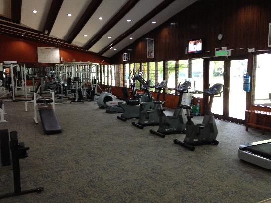 Bayview Beach Resort : The resort gym.