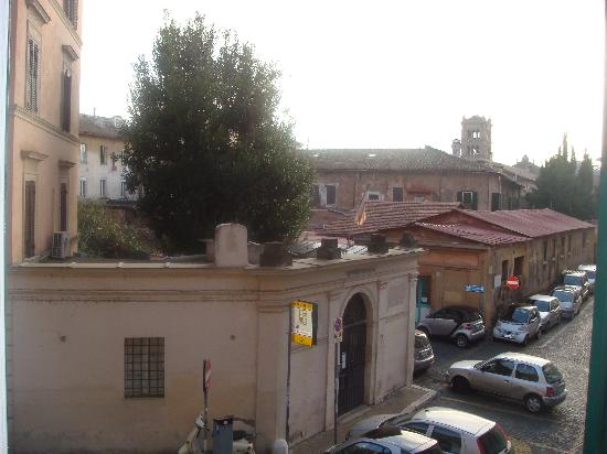 WRH Trastevere: View from the window Marilyn room.