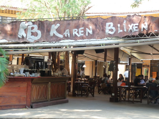 KB Karen Blixen: entrata