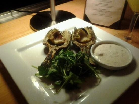 Dawn Ranch Lodge: roast artichokes