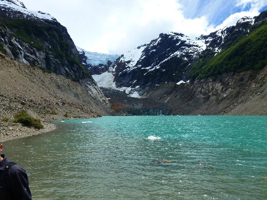 Esquel, อาร์เจนตินา: Laguna en la base del glaciar Torrecilla