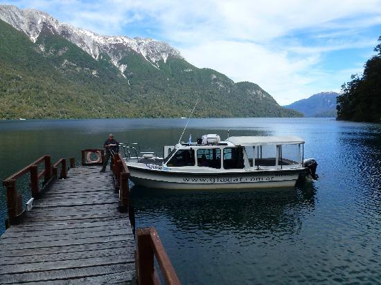 Esquel, الأرجنتين: Embarcación Glaxiar