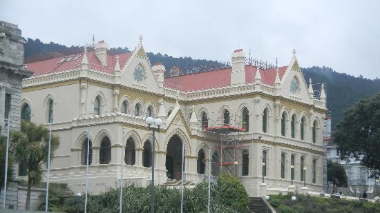 Wild About Wellington: Beautiful Wellington building.