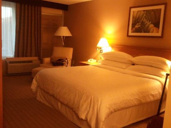 Sheraton Phoenix Airport Hotel Tempe: Comfortable bed