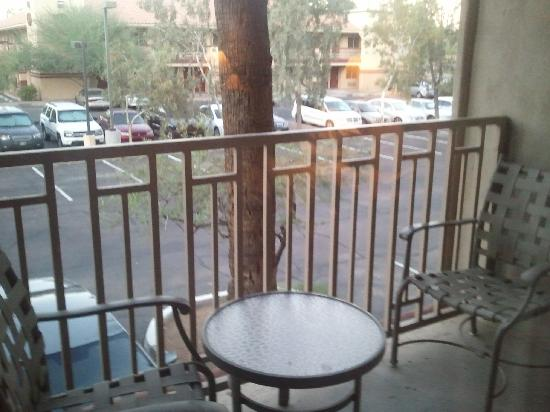 Sheraton Phoenix Airport Hotel Tempe: Small patio