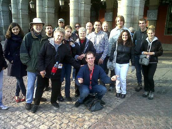 SANDEMANs NEW Europe - Madrid: Mark's troup of happy travelers