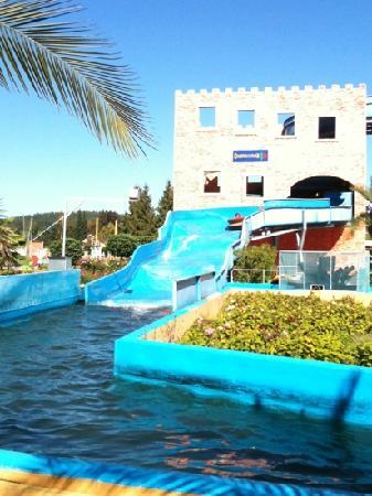 Churpfalzpark Loifling: Wasserrutsche
