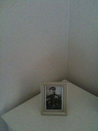 Villa Trapp: Prussian officer (so romantic !)